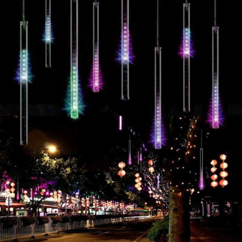20cm / 30cm / 50Ccm Christmas Lights Outdoor Curtain LED String Lights Decoration LED Bar Lights for wedding Party Light String Outdoor