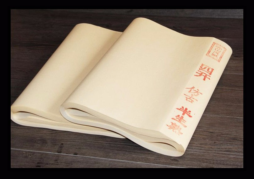 Trending Chinese Archaize color Rice Paper for Painting Calligraphy paper for Painting Art paper Supplies Details