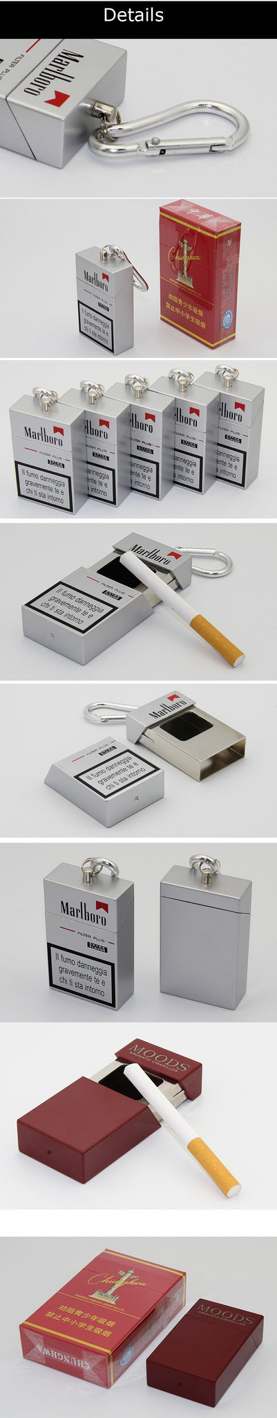 Pocket Ashtray With Lid Keychain