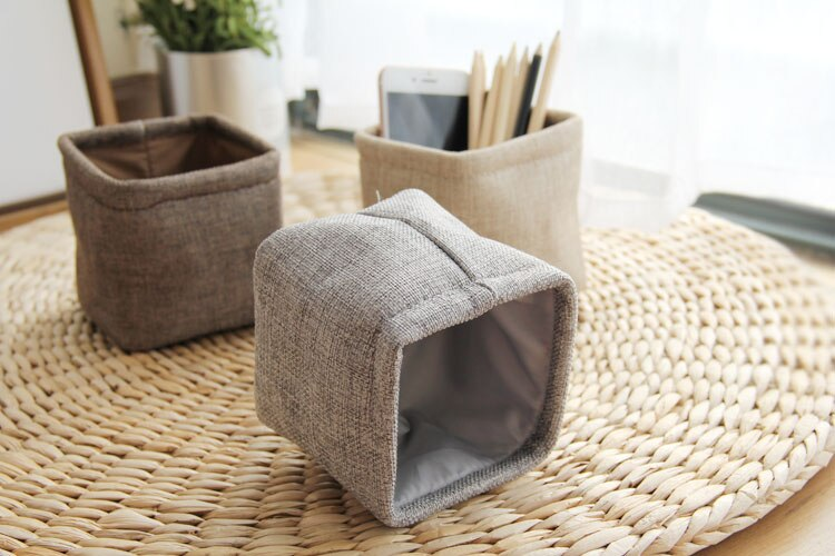 Japanese Linen Pen Holder