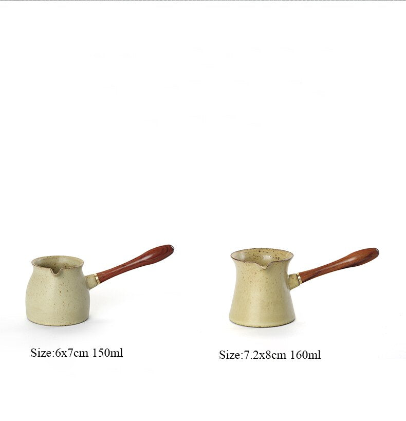 Japanese Ceramic Tea Pitcher Kung fu Japan tea accessories coffee and tea tools Size Chart