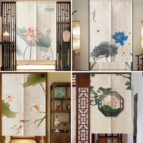 Feng Shui Noren Door Curtain
