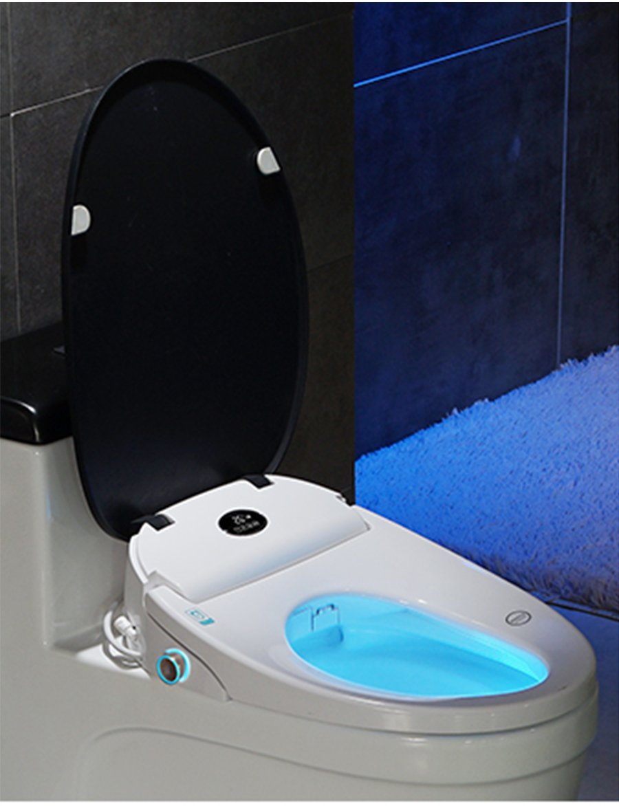 Trendy Japanese 4 color wc Auto SPA smart toilet seat Temperare display smart knob toilet seat cover electronic bidet toilet seat Japan Bathroom Fixtures Furniture Accessories