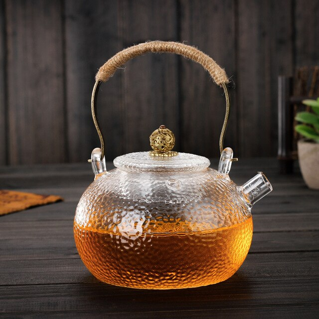 600ml Japanese Heat-resistant Glass Teapot Kettle