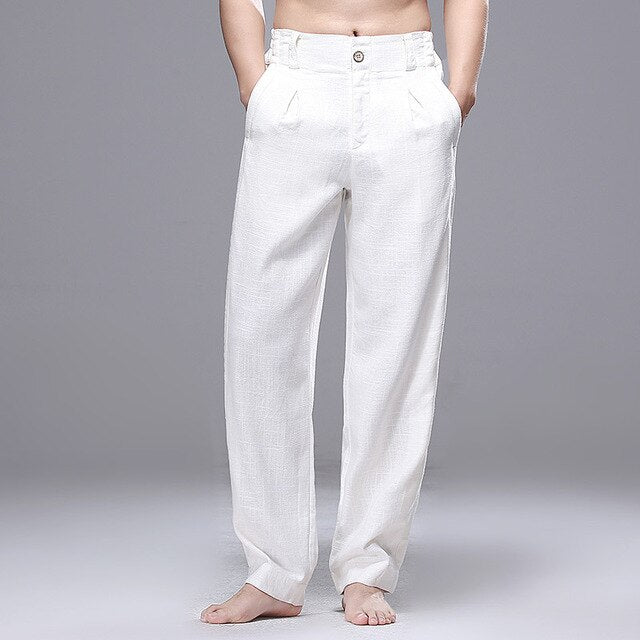 Japanese Cotton Straight Jogger Pants
