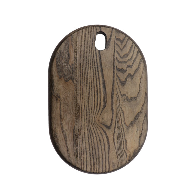 Ash Wood Chopping Block Wooden cheese serving cutting board