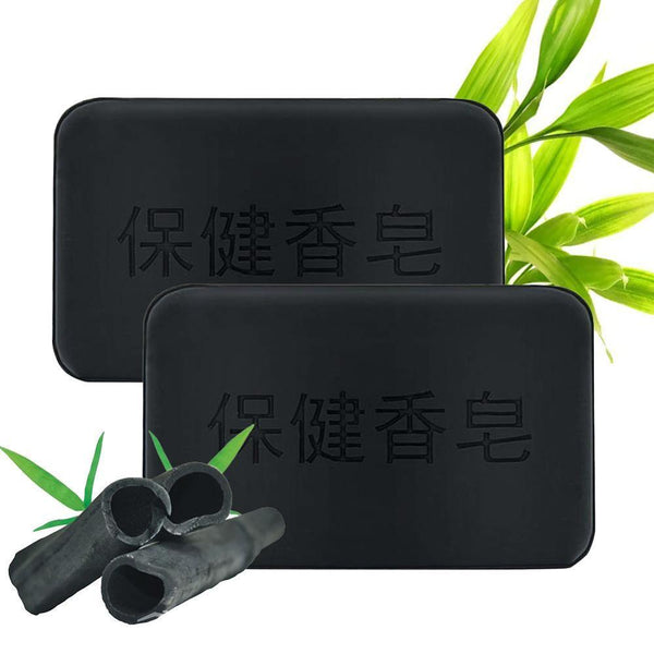 Propolis Charcoal Soap 40g Black Bamboo Charcoal Soap Face Body Clear Anti Bacterial Tourmaline Remover Acne Soap