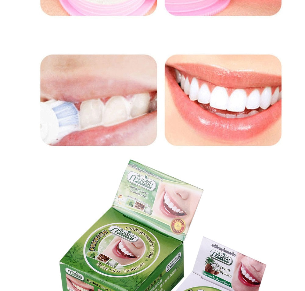 5 Piece Thai Clove Herbal Toothpaste