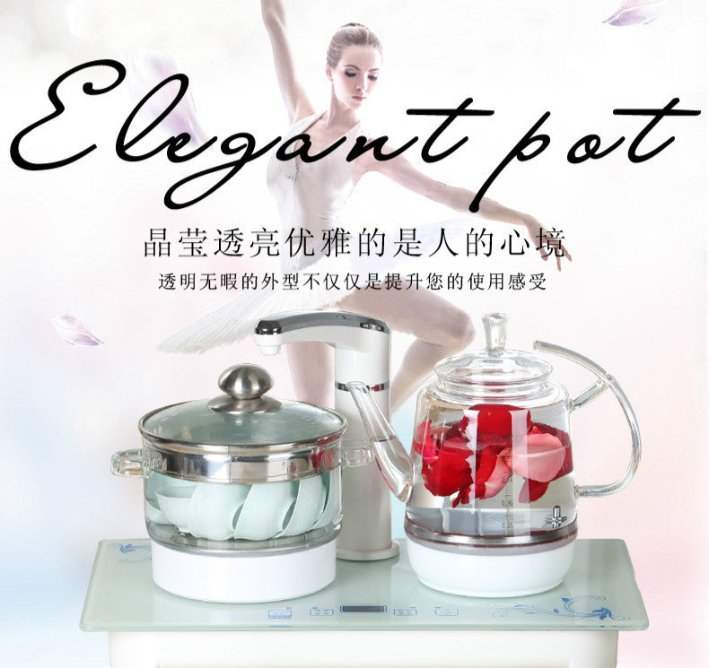 Electric Faucet Kettle Tea Set