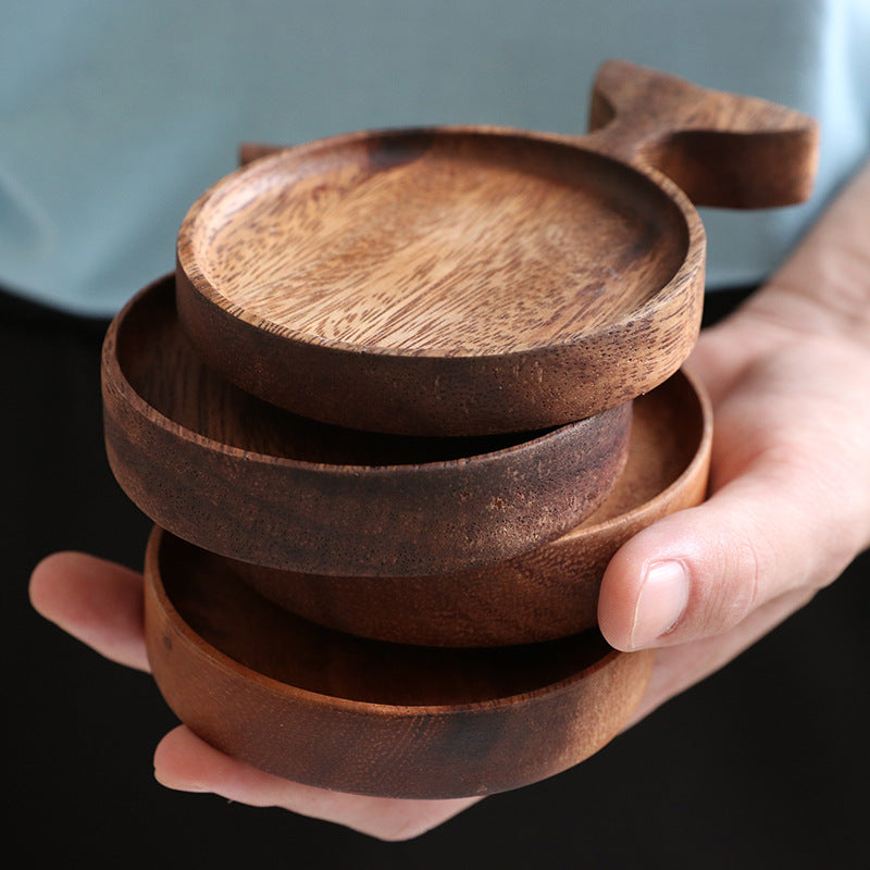 Japanese Acacia Wood Serving Dish