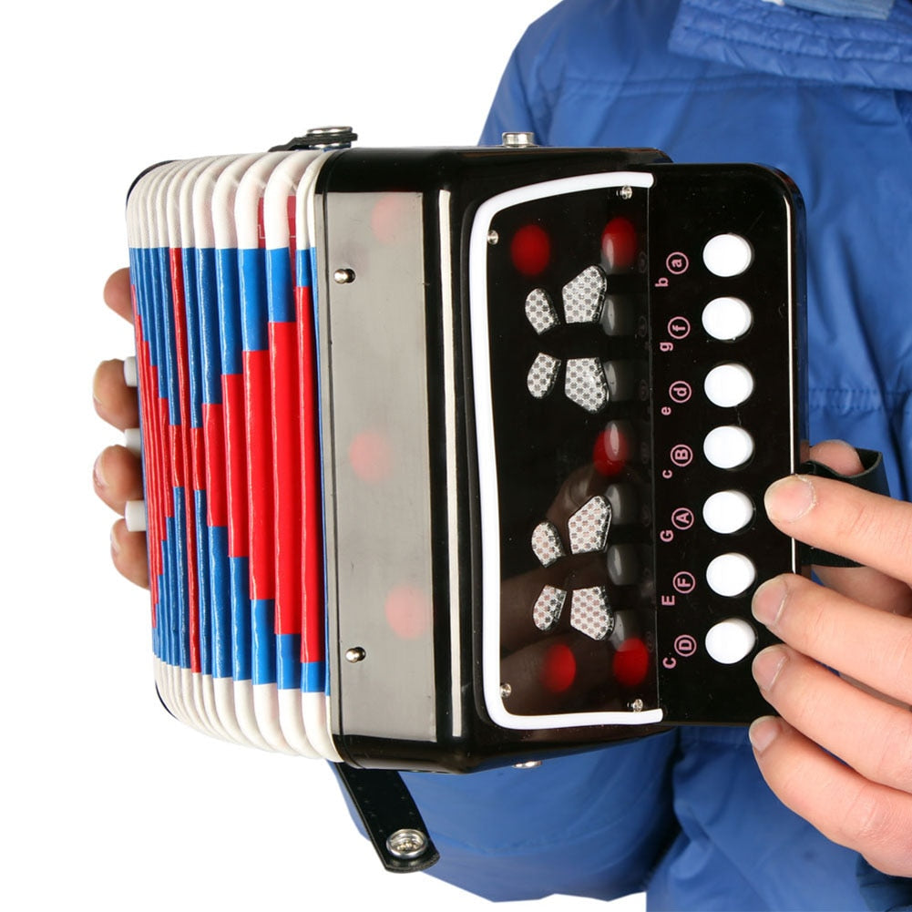 17-Key Mini Accordion
