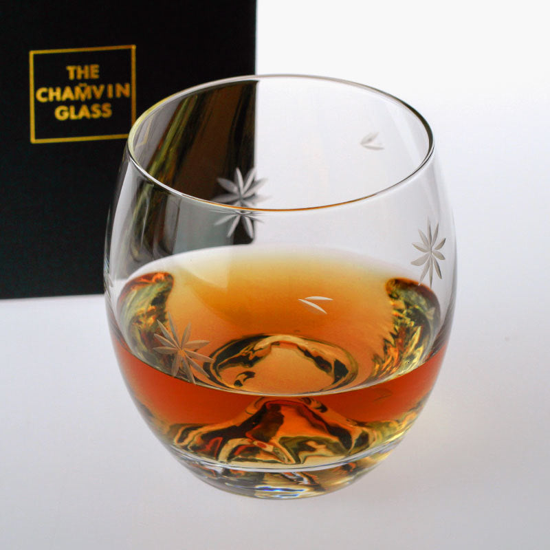 Japanese Mt. Fuji Whisky Glass