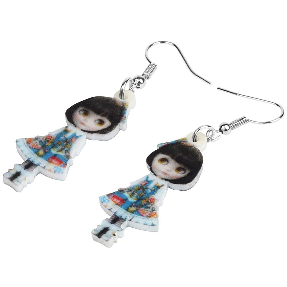 Japanese Girl Doll Earrings