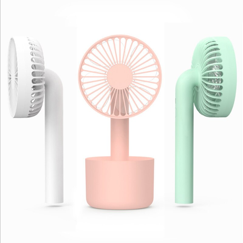 Detachable Portable Handheld Mini Fan Degree Rotation Ultra Quiet Home Office Outdoor Desk USB Electric Charging Fans