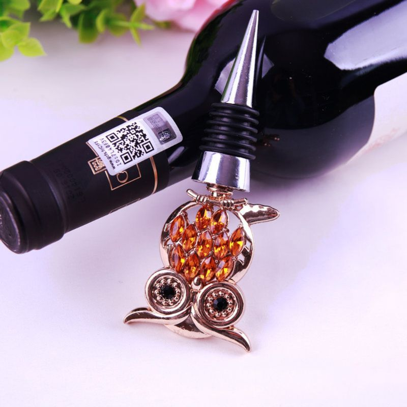 Cute Owl Wine Bottle Stopper