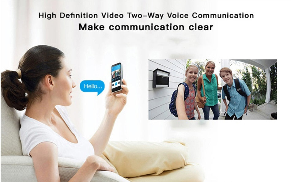 WI-FI Video Door Phone Door Bell