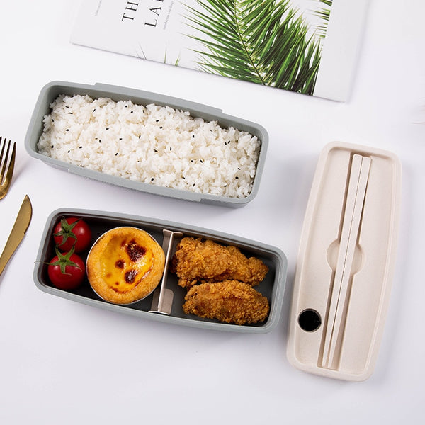 Bamboo fiber Bento Lunch Box