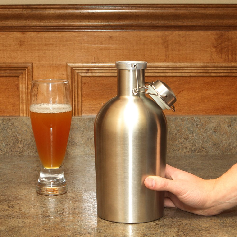 Home-brew Stainless Steel Keg with Swing Top