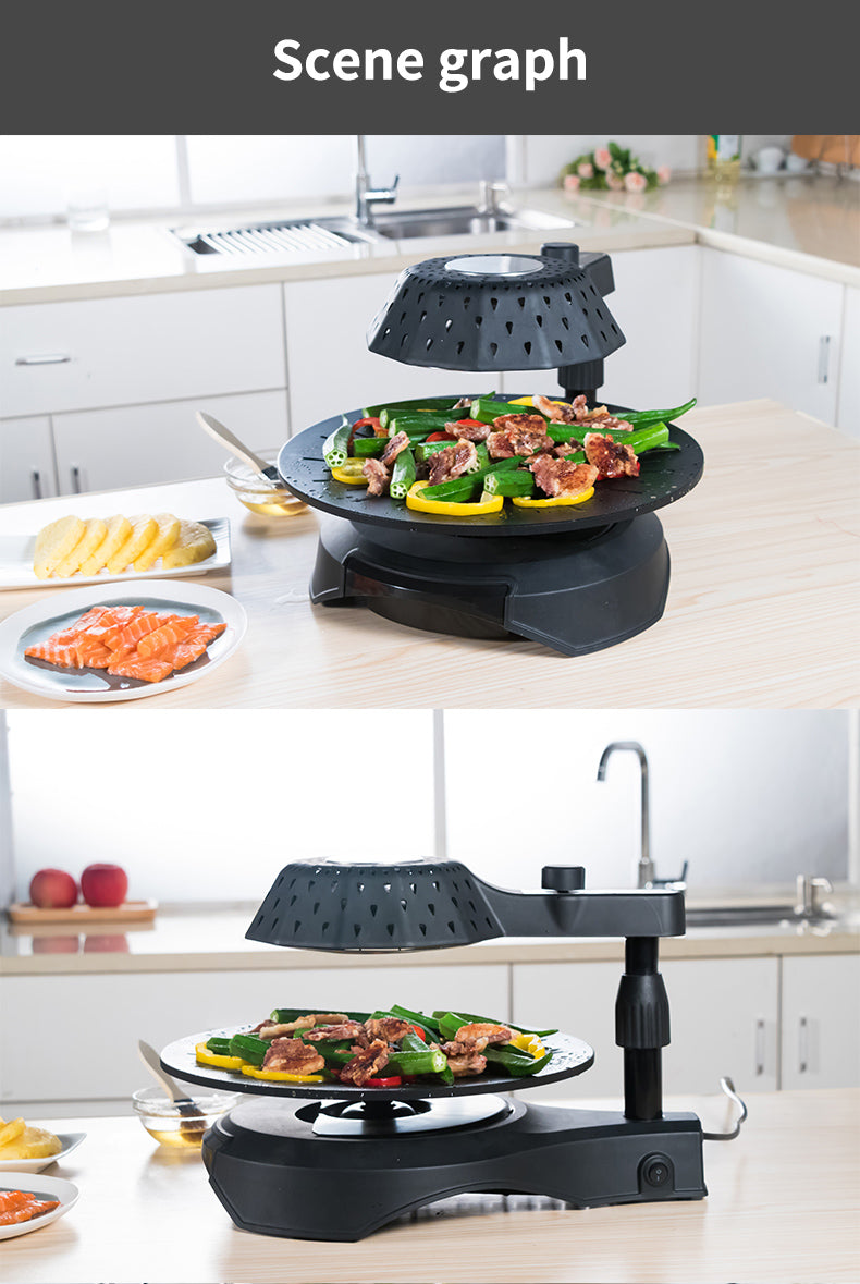 Japanese Rotating Infrared Grill