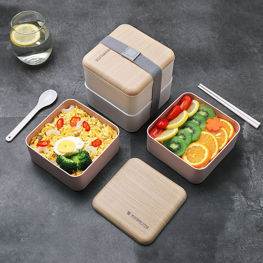 Bento Lunch Box 2-Layer