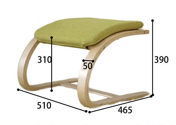 Contemporary Wooden Footstool Comfortable Fabric Cushion Ottoman Chair Small Plywood Wood Footrest Stools Furniture Size Chart