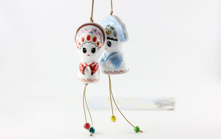 Ceramic Japanese Edo Wind Chimes