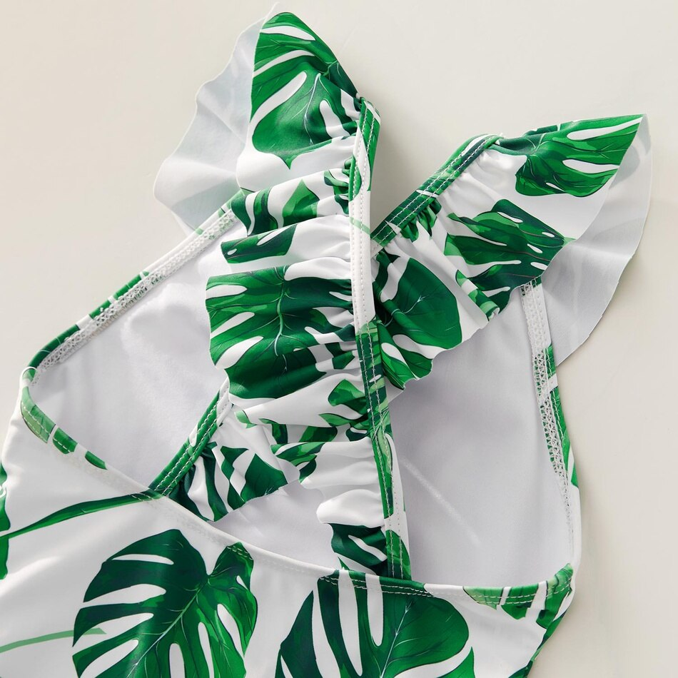 Tropical Match Swimwear