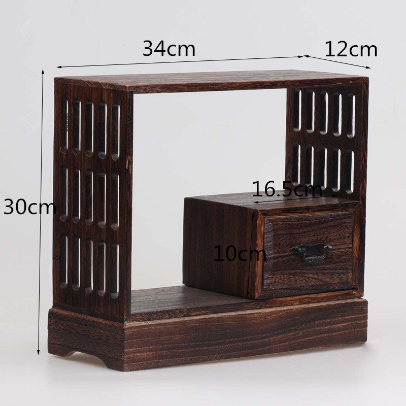 Japanese Antique Wooden Tea Cabinet Wall Shelf Wood Home Decor Accessories Japan Design Size Chart