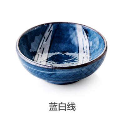 Japanese glaze ceramic small dishes flavor dish Creative kitchen soy sauce vinegar snack dish sushi wasabi condiment dishes