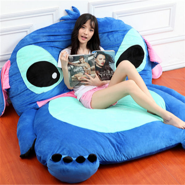 Japanese Anime Plush Stitch Tatami Giant Beanbag