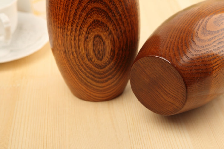 Japanese Solid Wooden Oval Flower Vases Japan Home Decor Accessories Wood Vase Design C