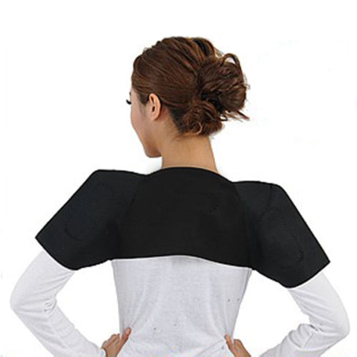 Pain Relieve Magnetic posture back shoulder corrector support Heating massage tourmaline shoulder heating posture corrector