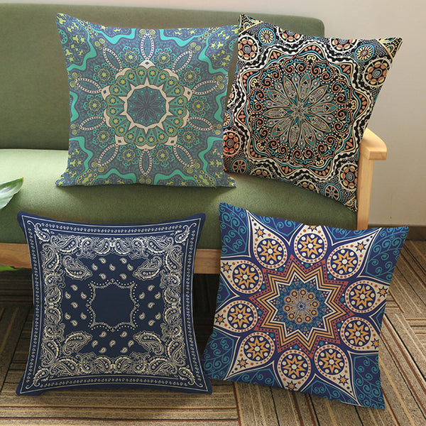 Thai Meditation Pillow Cushion Covers