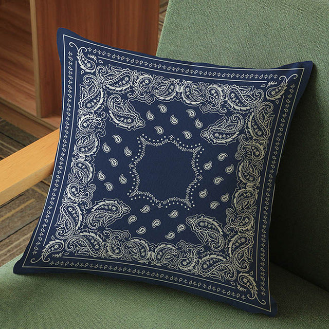 Thai Royal Blue Meditation Pillow Cushion Covers
