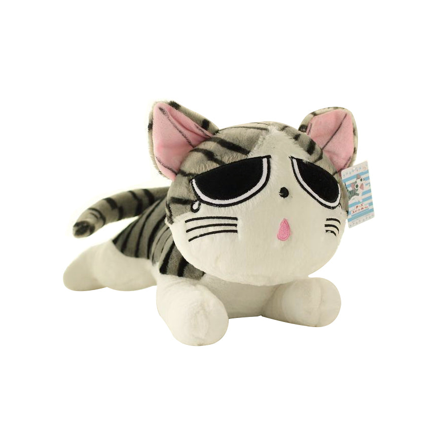 Japanese Anime Cheese Cat Plush Doll