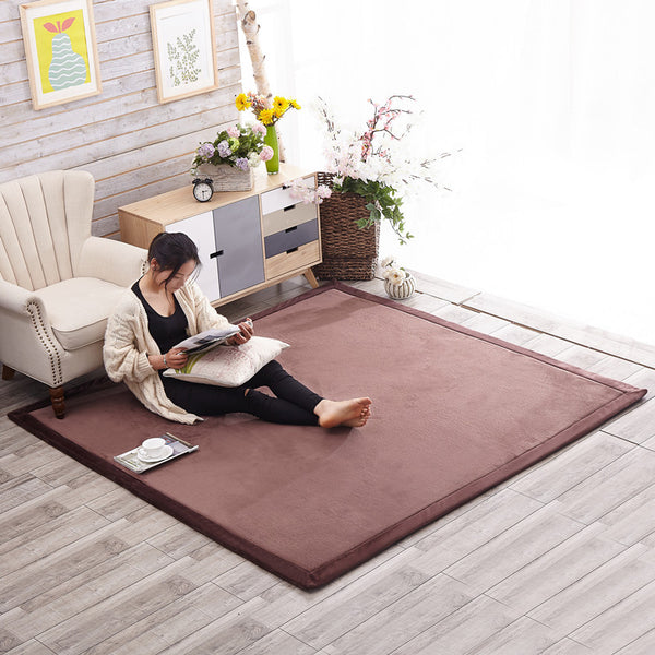 Large Japanese Coffee Tatami Carpets Japan Dining Living Room Bedroom Carpet Home Furnishings Accessories Style