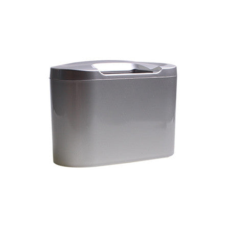 Plastic Mini Vehicle Auto Car Garbage Dust Case Holder Box Bin Trash Rubbish Can automobile accessory starage supply