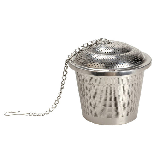 4.5cm Tea Mesh Ball Stainless Steel Herbal Ball Infuser Tea Strainer Silver
