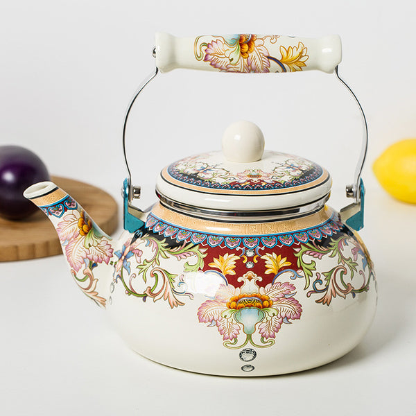 2.4L special porcelain enamel kettle traditional Chinese Medicine