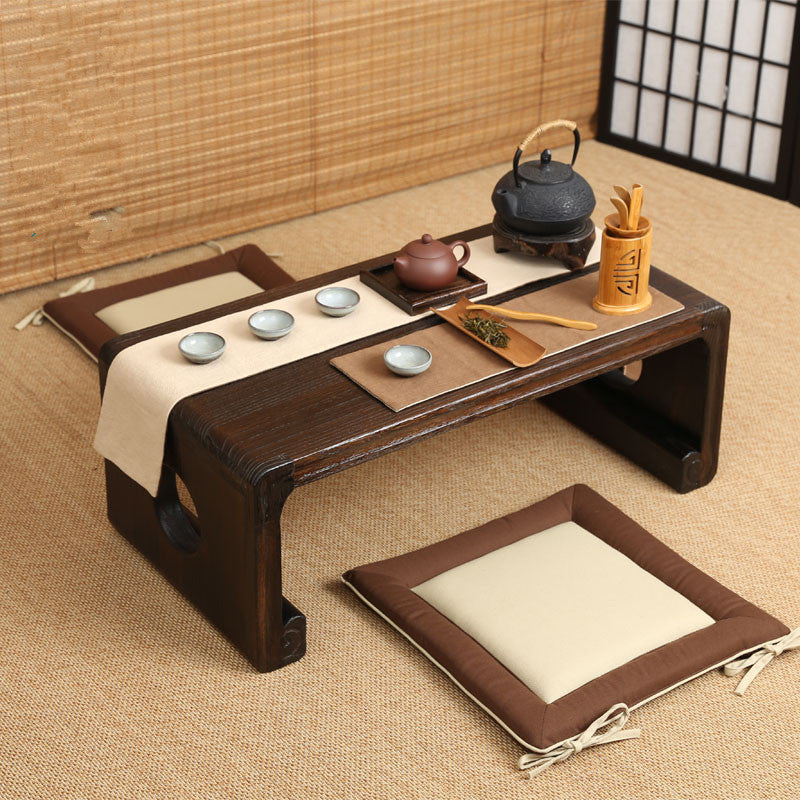 Japanese Low Paulownia Wood Tea Table Japan Home Decor Accessories
