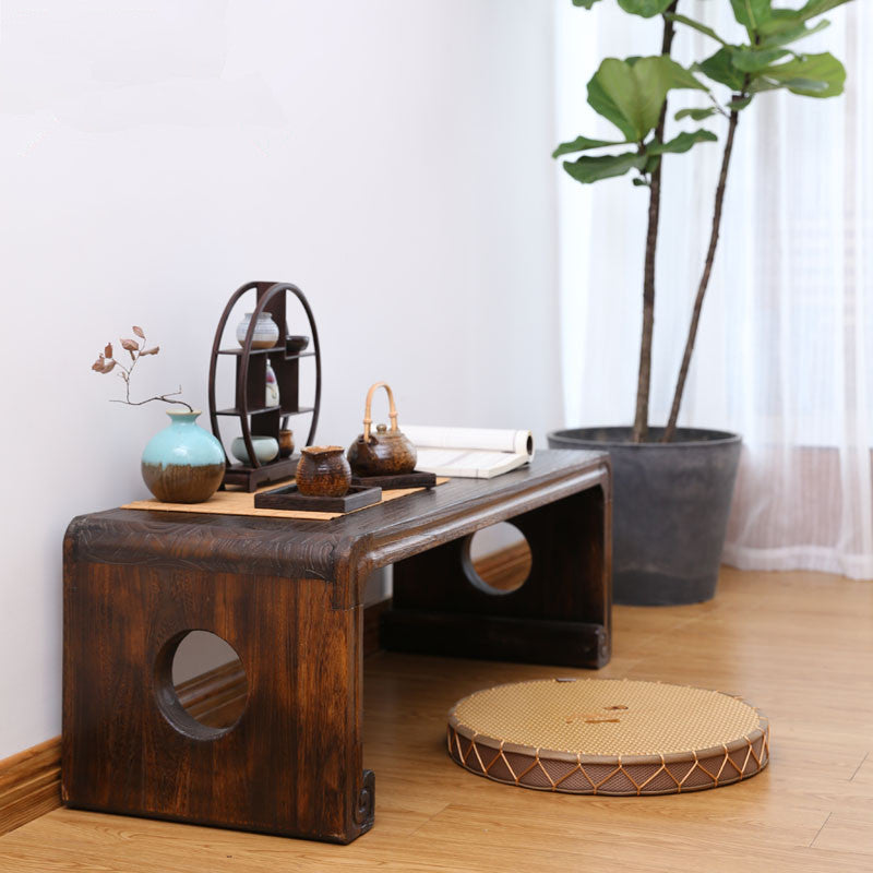 Japanese Low Paulownia Wood Tea Table Japan Home Decor Accessories Design