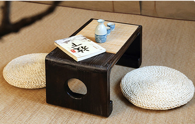 Japanese Low Paulownia Wood Tea Table Japan Home Decor Accessories Design B