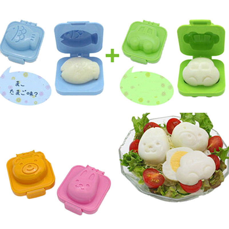 6 Piece Cartoon Japan Sushi Maker Set