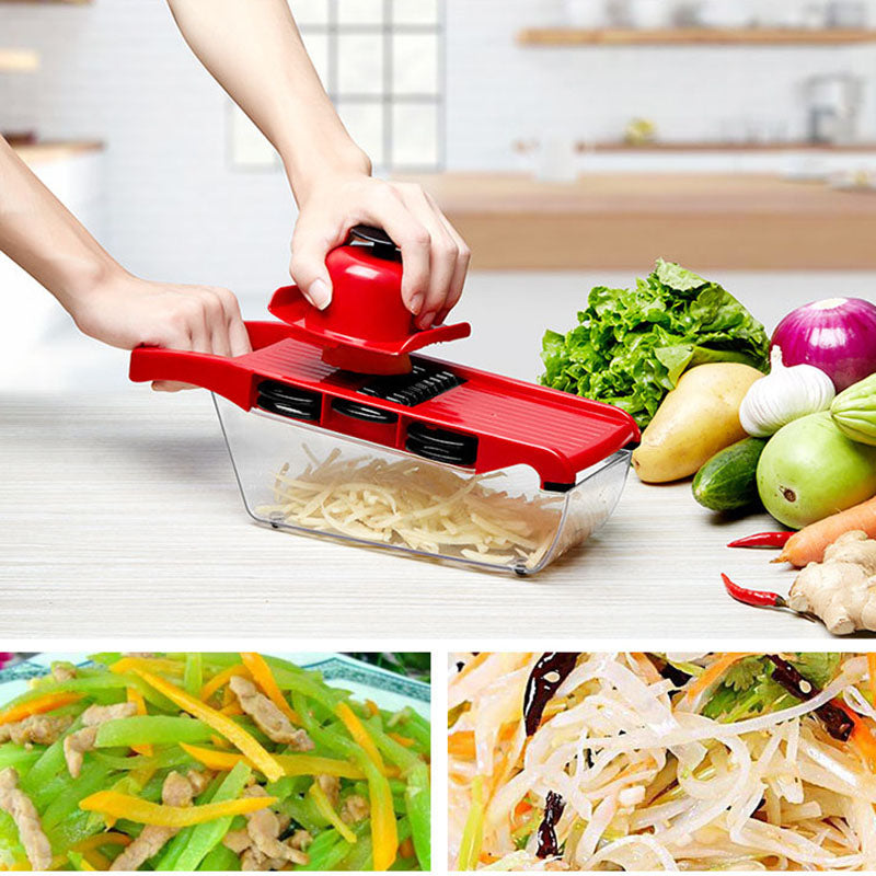 Mandoline Slicer Vegetable Cutter Manual Potato Peeler Carrot Grater Dicer Kitchenware Accessories Style F