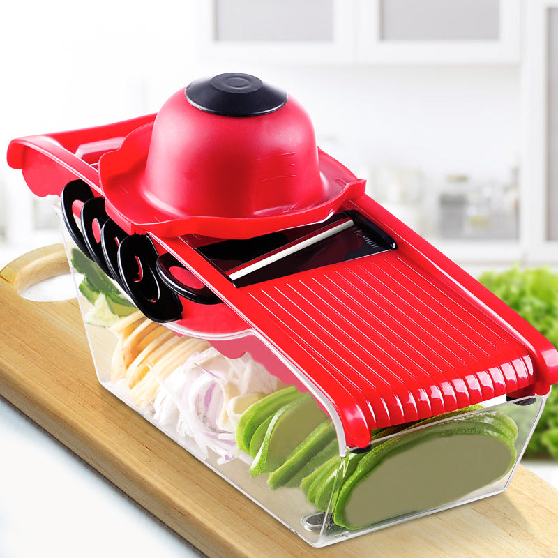 Mandoline Slicer Vegetable Cutter Manual Potato Peeler Carrot Grater Dicer Kitchenware Accessories Style C