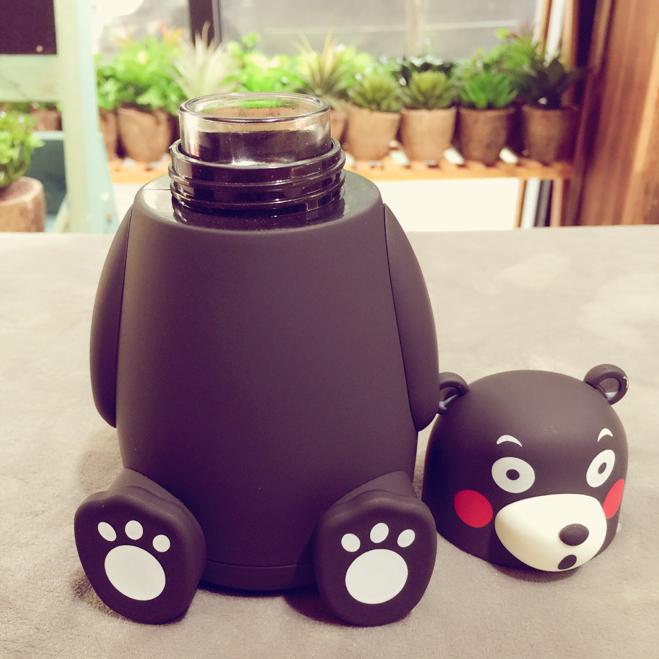 Cute Kumamon Japan Mascot Thermos Flasks