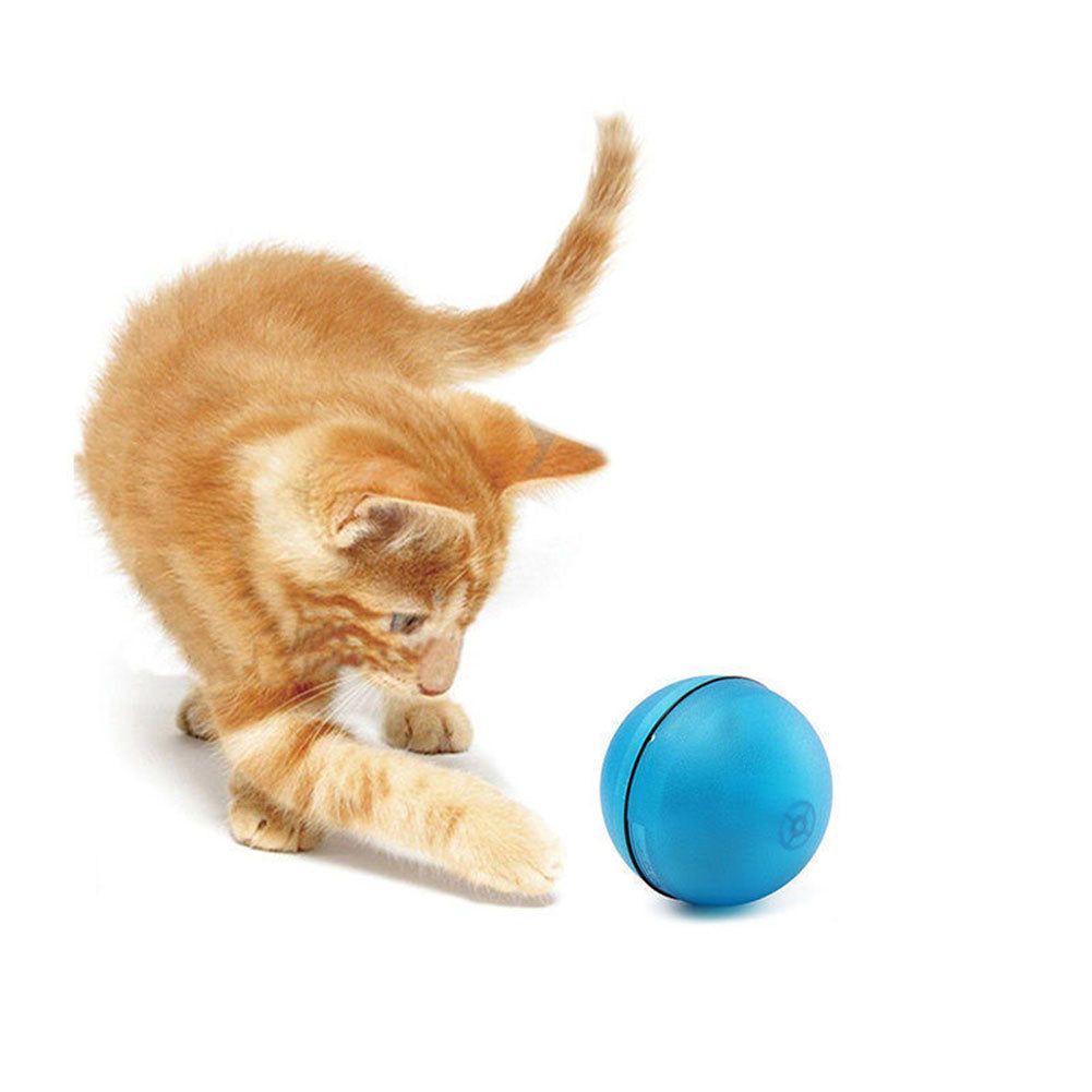 DesertCreations New Arrival Pet Products Laser Funny Pet Cat Toy Ball Interactive Cat LED Flash Light Ball Rolling Funny Cat Toys