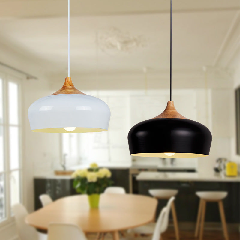 GUANQIU LIGHTING European Japanese original wood pendent lamp designer creative dining room bedside bar decoration lamp A185