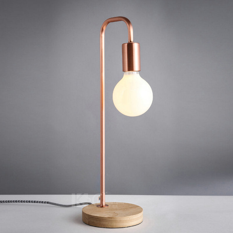 Nordic Japanese style simple table lamp