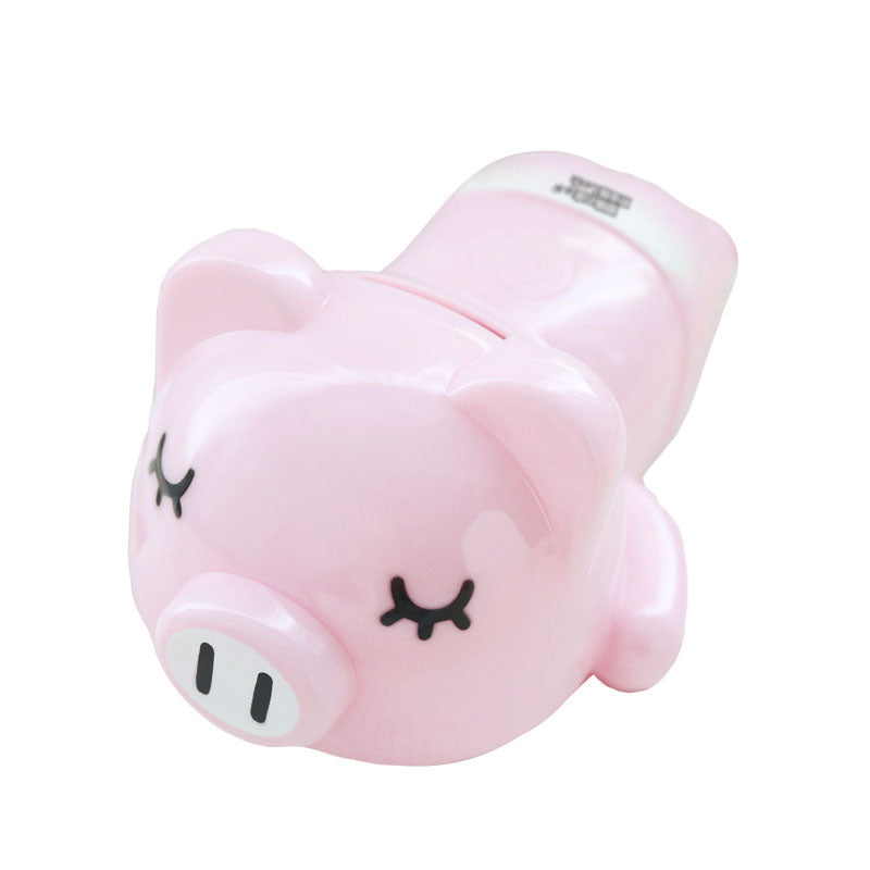 Cute Fashionista Pink Pig Coin Piggy Bank Money Savings Box Coin Piggy Bank Cash Boxes Child Kids Gift Home Decoration Accessories Style C